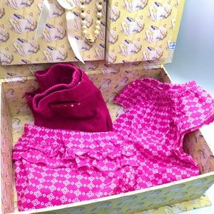3 Pcs Baby Girl 9 Months, Pants, Dress with Panty